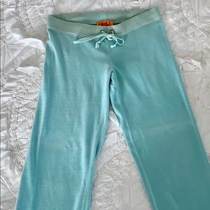 Juicy Couture Mint Green Track Pants Size Small
